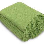 «Лотос св-зеленое». Покрывало 100% хлопок. ТМ «Коронатекс», Индия