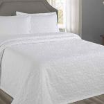 «Lumatex арт. Fust255 white» покрывало жаккардовое . Состав 80% хлопок, 20% полиэстер. Производство ТМ «Lumatex», Португалия