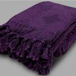 «Виноград фиолетовый». Покрывало 100% хлопок. ТМ «Коронатекс», Индия