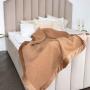 Marco 1-02. Всесезонное шерстяное тканое одеяло. 100% пуховая шерсть молодого верблюда. Производитель Drobe (Дроби), Литва