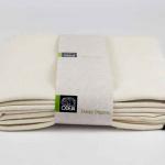 Наматрасник мягкий «ODEJA ORGANIC Molton Matres Protector».. Защитный с резинками по углам. Ткань Мольтон, 100% органический хлопок (COTTON). ТМ «Odeja», Словения