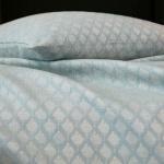 Покрывало «CARPATES turquoise» (бирюзовый). Состав 100% Хлопок Пике. ТМ «Blanc des Vosges», Франция (страна производства Португалия)