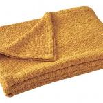 Покрывало «EVEREST CURRY» (желтый). Состав 100% Хлопок Пике. ТМ «Blanc des Vosges», Франция (страна производства Португалия)