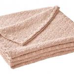 Покрывало «EVEREST NACRE» (розовый). Состав 100% Хлопок Пике. ТМ «Blanc des Vosges», Франция (страна производства Португалия)